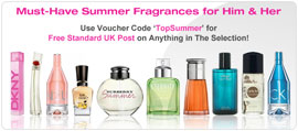 Offers for Summer Fragrances and Perfmes